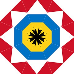 Flag Of Antigua & Barbuda Golf Umbrellas