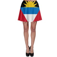 Flag Of Antigua & Barbuda Skater Skirt