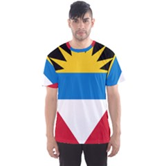 Flag Of Antigua & Barbuda Men s Sports Mesh Tee