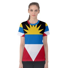 Flag Of Antigua & Barbuda Women s Cotton Tee