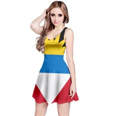 Flag Of Antigua & Barbuda Reversible Sleeveless Dress