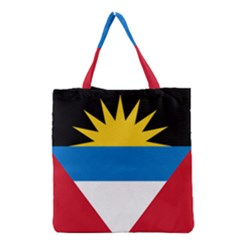 Flag Of Antigua & Barbuda Grocery Tote Bag