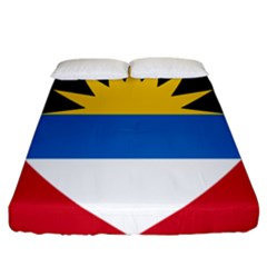 Flag Of Antigua & Barbuda Fitted Sheet (california King Size)