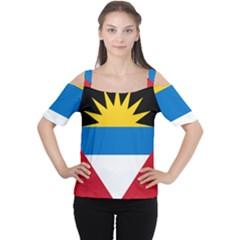 Flag Of Antigua & Barbuda Cutout Shoulder Tee