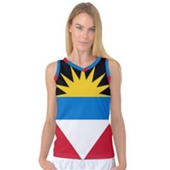 Flag Of Antigua & Barbuda Women s Basketball Tank Top