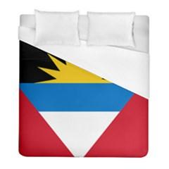 Flag Of Antigua & Barbuda Duvet Cover (full/ Double Size)