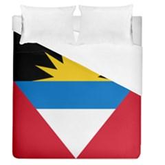 Flag Of Antigua & Barbuda Duvet Cover (queen Size)