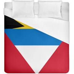 Flag Of Antigua & Barbuda Duvet Cover (king Size) by abbeyz71