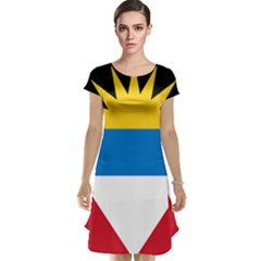 Flag Of Antigua & Barbuda Cap Sleeve Nightdress