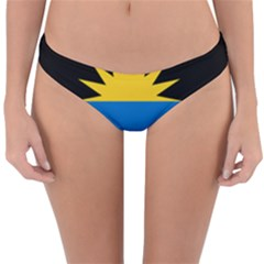 Flag Of Antigua & Barbuda Reversible Hipster Bikini Bottoms