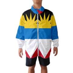 Flag Of Antigua & Barbuda Wind Breaker (kids)