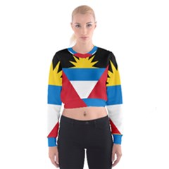 Flag Of Antigua & Barbuda Cropped Sweatshirt