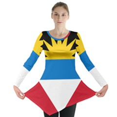 Flag Of Antigua & Barbuda Long Sleeve Tunic