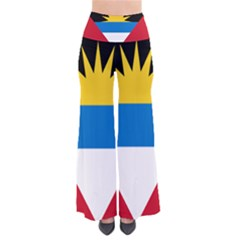 Flag Of Antigua & Barbuda So Vintage Palazzo Pants by abbeyz71