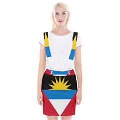 Flag Of Antigua & Barbuda Braces Suspender Skirt