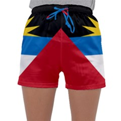 Flag Of Antigua & Barbuda Sleepwear Shorts by abbeyz71