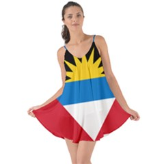 Flag Of Antigua & Barbuda Love The Sun Cover Up