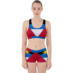 Flag Of Antigua & Barbuda Work It Out Gym Set
