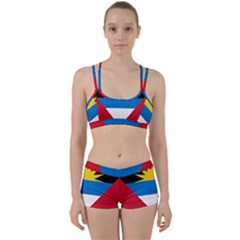 Flag Of Antigua & Barbuda Women s Sports Set