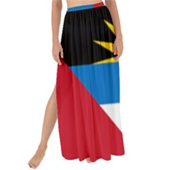 Flag Of Antigua & Barbuda Maxi Chiffon Tie Up Sarong