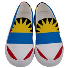 Flag Of Antigua & Barbuda Men s Canvas Slip Ons