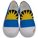 Flag of Antigua & Barbuda Men s Canvas Slip Ons View1