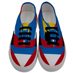 Flag Of Antigua & Barbuda Men s Classic Low Top Sneakers