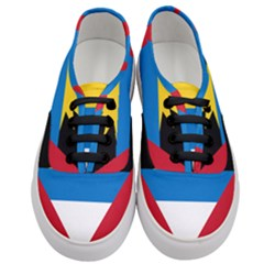 Flag Of Antigua & Barbuda Women s Classic Low Top Sneakers