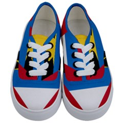 Flag Of Antigua & Barbuda Kids  Classic Low Top Sneakers
