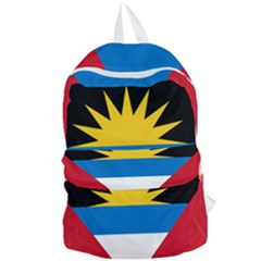 Flag Of Antigua & Barbuda Foldable Lightweight Backpack