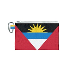 Flag Of Antigua & Barbuda Canvas Cosmetic Bag (small)