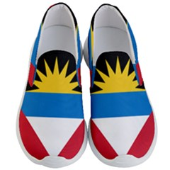 Flag Of Antigua & Barbuda Men s Lightweight Slip Ons