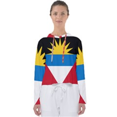 Flag Of Antigua & Barbuda Women s Slouchy Sweat