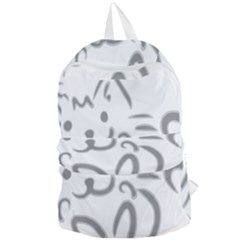 Cat Feline Cute Pet Animal Foldable Lightweight Backpack