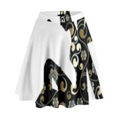 Fairy Fantasy Female Fictional High Waist Skirt