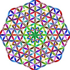Flower Of Life Sacred Geometry Folding Umbrellas