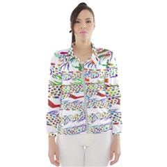 Dragon Asian Mythical Colorful Wind Breaker (women)