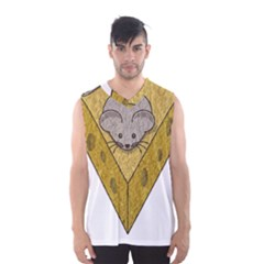 Cheese Rat Mouse Mice Food Cheesy Men s Basketball Tank Top