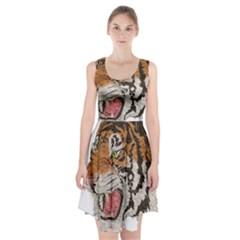 Tiger Tiger Png Lion Animal Racerback Midi Dress