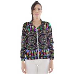 Mandala Decorative Ornamental Wind Breaker (women)
