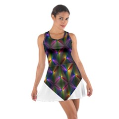 Heart Love Passion Abstract Art Cotton Racerback Dress by Simbadda