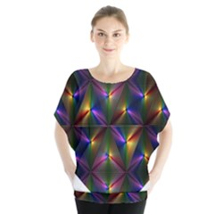 Heart Love Passion Abstract Art Blouse