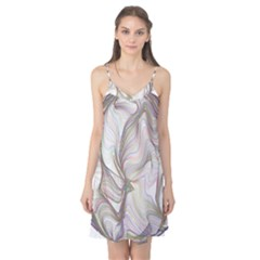 Abstract Geometric Line Art Camis Nightgown
