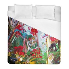 Eden Garden 2 Duvet Cover (full/ Double Size) by bestdesignintheworld
