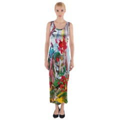 Eden Garden 2 Fitted Maxi Dress