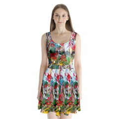 Eden Garden 2 Split Back Mini Dress
