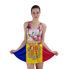 National Flag Of Andorra  Mini Skirt