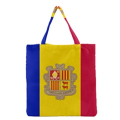 National Flag Of Andorra  Grocery Tote Bag