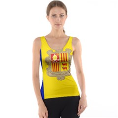 National Flag Of Andorra  Tank Top