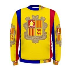 National Flag Of Andorra  Men s Sweatshirt